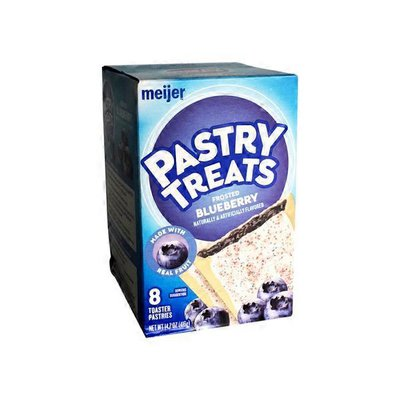 Meijer Frosted Blueberry Flavored Pastry Treats