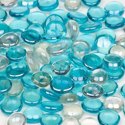 Petco Ocean Blue Mix Gel Gems Gravel Accents