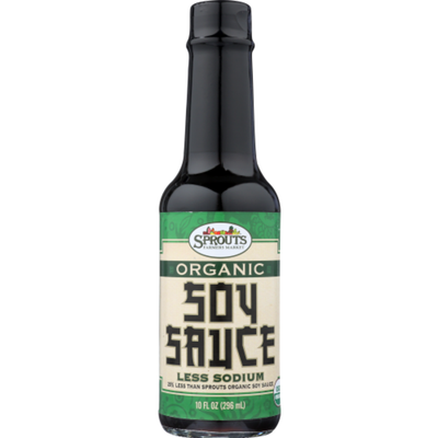 Sprouts Organic Less Sodium Soy Sauce