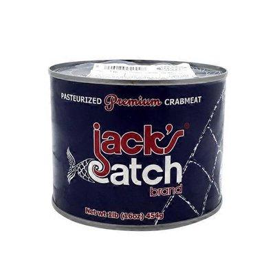 Jack's Catch Pasteurized Premium Crabmeat