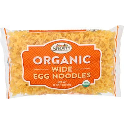 Sprouts Organic Wide Egg Noodles