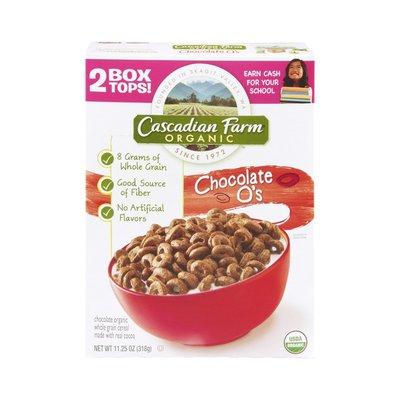 Cascadian Farm Cereal, Chocolate O's
