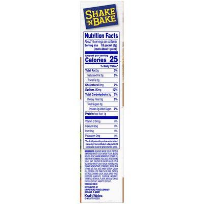 Shake 'N Bake Crunchy Pretzel Seasoned Coating Mix
