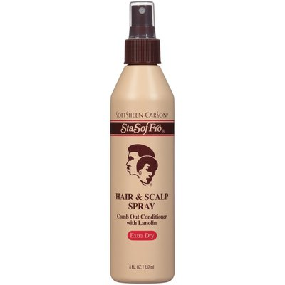 SoftSheen-CarSon SoftSheen Carson Sta-Sof-Fro Extra Dry Comb Out Conditioner with Lanolin Hair & Scalp Spray