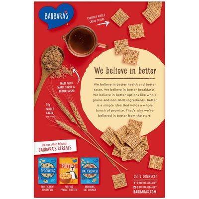 Barbara's Multigrain Squarefuls Maple Brown Sugar