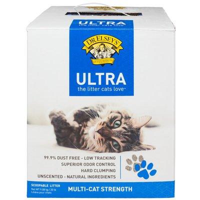 Dr. Elsey's Litter, Scoopable, Ultra, Multi-Cat Strength