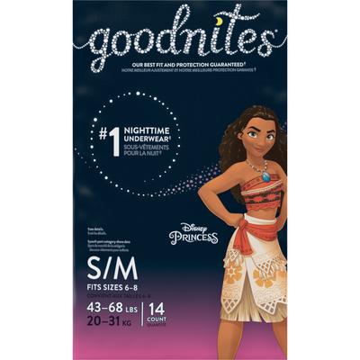 Huggies GoodNites Small  Medium Bedtime Underwear Girls