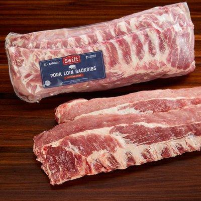 Swift Premium Pork Back Ribs