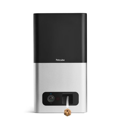 Petcube HD 1080p Video, Audio, Night Vision Bites Pet Camera With Treat Dispenser