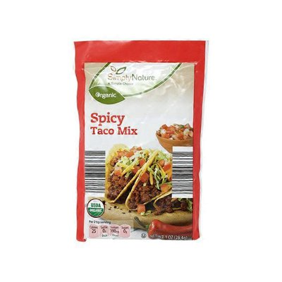 Simply Nature Organic Spicy Taco Mix