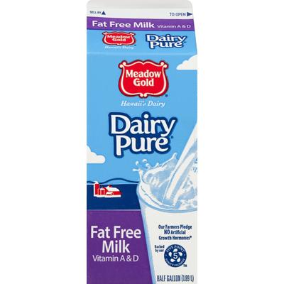 Meadow Gold Milk, Fat Free