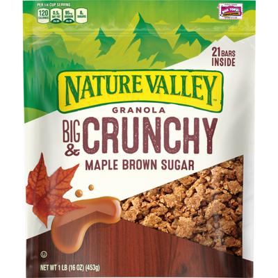 Nature Valley Maple Brown Sugar Granola Crunch
