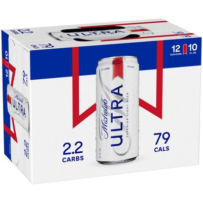 Michelob Ultra Light Beer Slim Cans