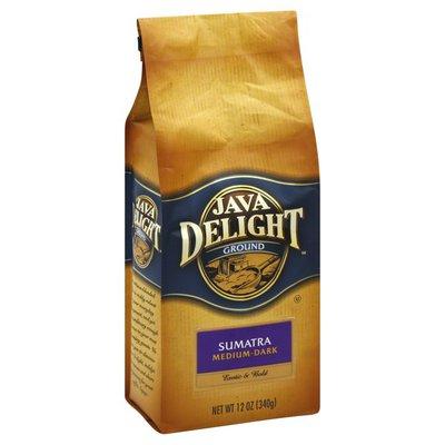 Java Delight Coffee, Ground, Medium-Dark, Sumatra