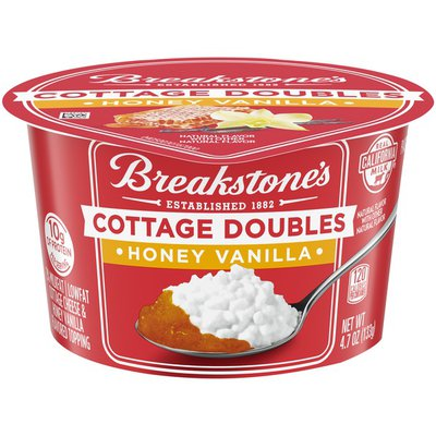 Breakstone'S Cottage Doubles Cottage Cheese & Honey Vanilla Topping