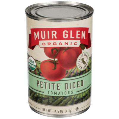 Muir Glen Organic Petite Diced Tomatoes