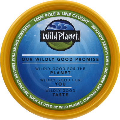 Wild Planet Wild Tuna in Extra Virgin Olive Oil, Albacore, Solid