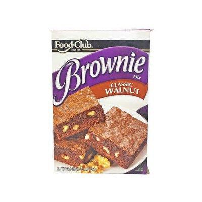 Food Club Classic Walnut Brownie Mix