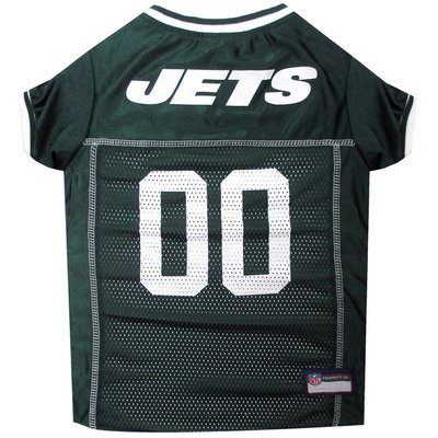 Pets First Large New York Jets Mesh Dog Jersey