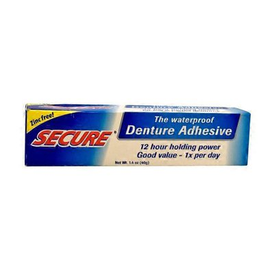 Secure Secure Denture Bonding Cream