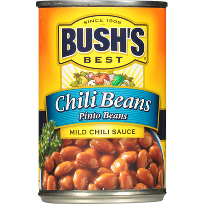 Bush's Best Pinto Beans in a Mild Chili Sauce