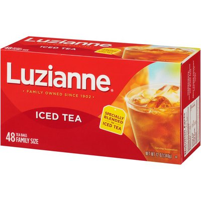 Luzianne Special Blend Iced Tea, Family Size Tea Bags