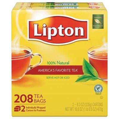 Lipton 100% Natural Tea Bags