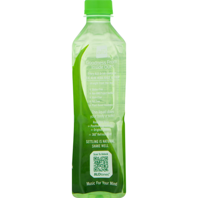 ALO Pulp and Juice, Original Aloe Vera + Honey, Exposed