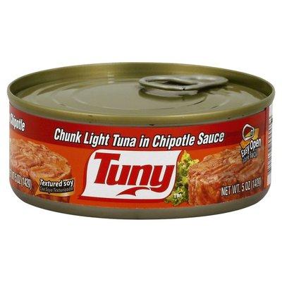 Tuny Tuna, Chunk Light, in Chipotle Sauce