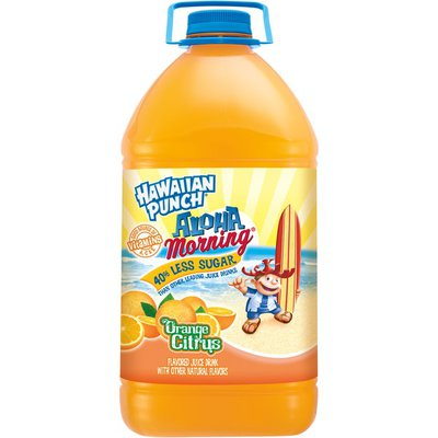 Hawaiian Punch Juice Drink, Orange Citrus