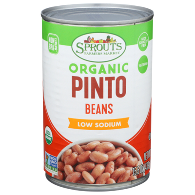 Sprouts Organic Pinto Beans