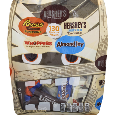 Hershey's Candy, Assorted, Snack Size