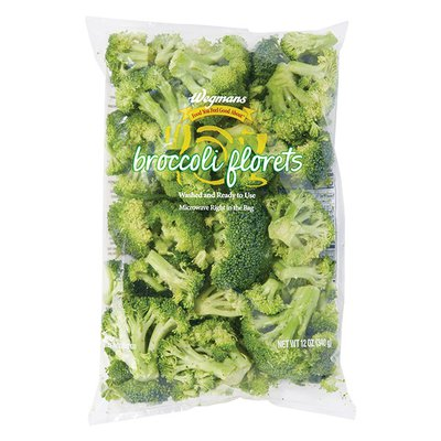 Wegmans Food You Feel Good About Cleaned and Cut Broccoli Florets