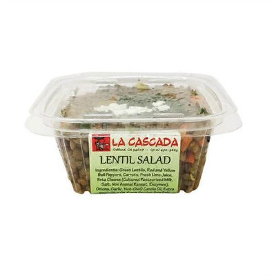 La Cascada Lentil Salad
