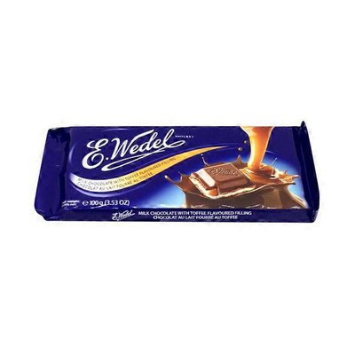 E.Wedel Milk Chocolate With Toffee Flavored Filling