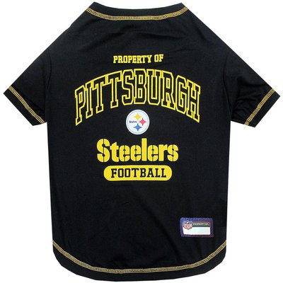 Pets First Extra Small Pittsburgh Steelers T Shirt