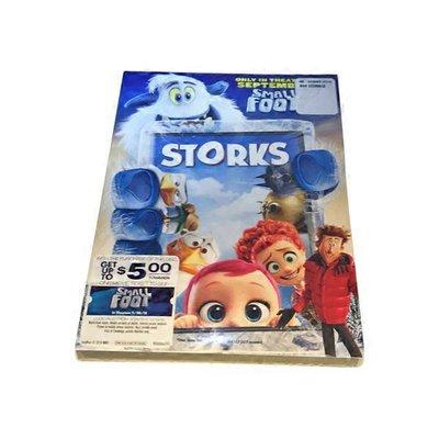 Warner Brothers Storks DVD