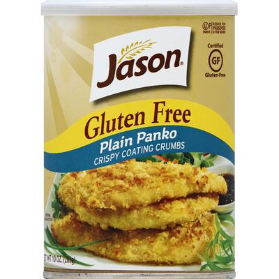 JĀSÖN Coating Crumbs, Gluten Free, Plain Panko
