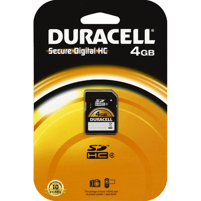 Duracell Secure Digital HC, 4GB