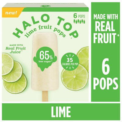 Halo Top Lime Fruit Pops