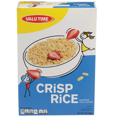 Valu Time Crisp Rice Toasted Rice Cereal