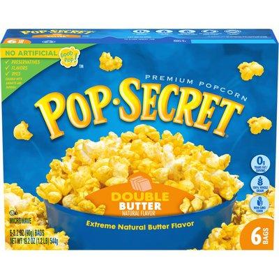 Pop Secret Double Butter Microwave Popcorn