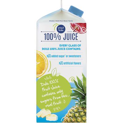 Dole Pineapple Orange Banana Flavored Blend Of Juices
