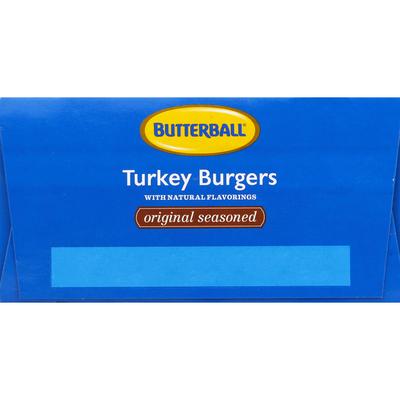 Butterball Original Seasoned Turkey Burgers