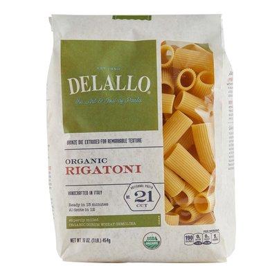 DeLallo Organic Rigatoni #21