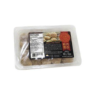 Gold Standard Foods Shrimp & Pork Wonton