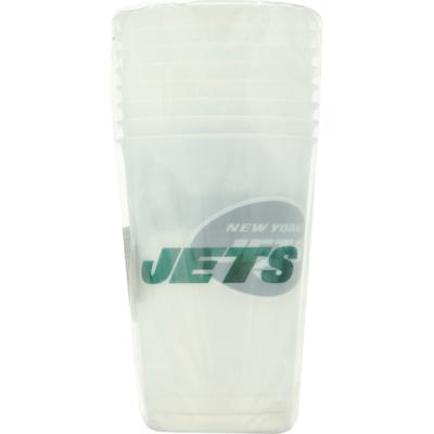 NFL Plastic Cups, New York Jets, 20 Fluid Ounce