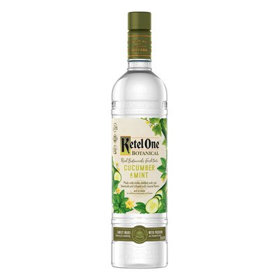 Ketel One Cucumber & Mint Vodka Distilled With Real Botanicals And Infused With Natural Flavors