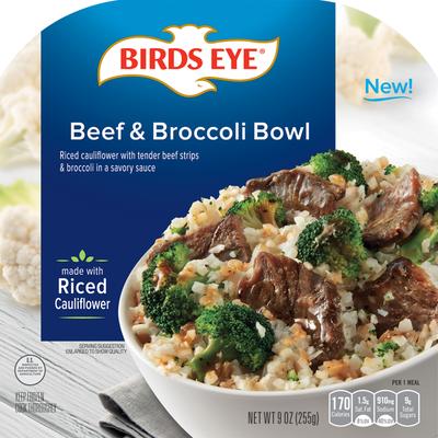 Birds Eye Beef & Broccoli Bowl