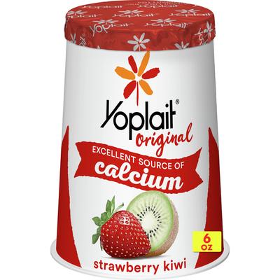 Yoplait Original Yogurt, Low Fat Yogurt, Strawberry Kiwi
